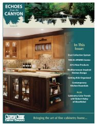 December - Canyon Creek Cabinet Company