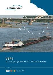 Subsidieregeling dieselmotoren voor binnenvaartschepen (VERS)