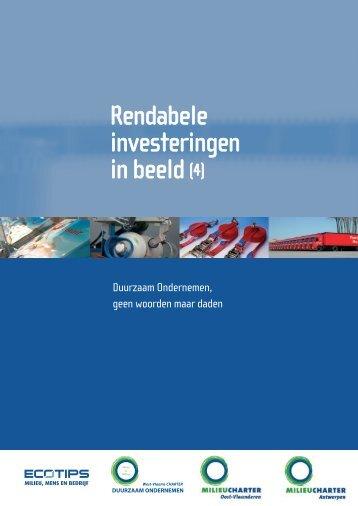 Rendabele investeringen in beeld (4) - POM West-Vlaanderen