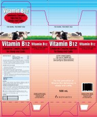 Cobalamin Complex Injection for Sheep and Cattle ... - Agtech.com.au