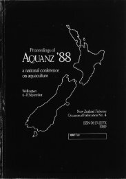 New Zealand fisheries occasional publication no. 4 (1989)
