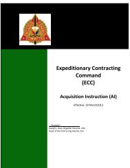 (ECC) Acquisition Instruction - Home Page 409th Contracting ...