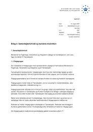 Bilag 3: Samarbejdsforhold og kundens medvirken - Ny i Danmark