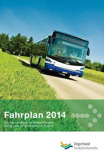 Fahrplan 2014 - Seetal-Freiamt