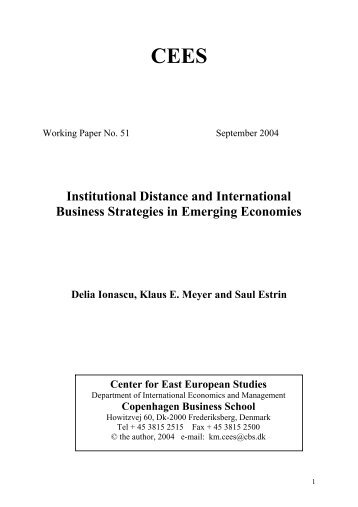 a literature review on international business A literature review of corporate governance 2011 international conference on e-business the main focus of his literature was to find out the.