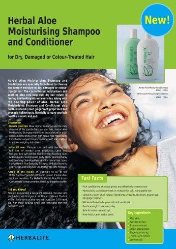 Herbal Aloe Moisturising Shampoo and Conditioner - Herbalife