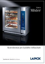 Prospekt konvektomat Lainox Mixter 2009 CZ (5,88 MB) - Klimatechnik