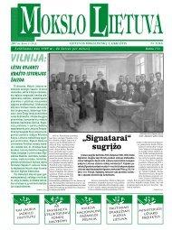 2007 m. kovo 1 – 4 Nr. 5 - MOKSLAS plius