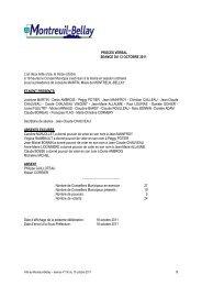 procès verbal du 13 octobre 2011 - Montreuil-Bellay
