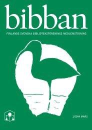 Bibban 1/2004 - Biblioteken.fi