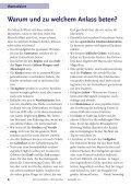 """""""Was bringt Beten?"""" Unsere Konfis auf der Suche nach Antworten - Page 4"""