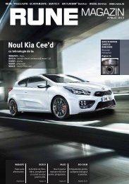 Noul Kia Cee'd - RUNE Piese Auto