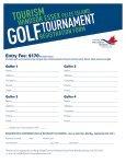 2013 Golf Registration Forms - Tourism Windsor, Essex, Pelee Island - Page 2