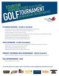 2013 Golf Registration Forms - Tourism Windsor, Essex, Pelee Island - Page 3