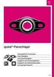 igubal®-Flanschlager - Igus