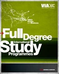 TEKO Design and Business - VIA University College
