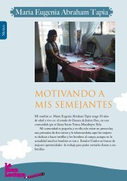 MOTIVANDO A MIS SEMEJANTES - Global Campaign for Education