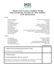 Minutes Of The Executive Committee Meeting Held On