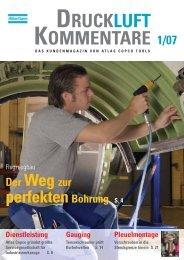DRUCKLUFT KOMMENTARE - Atlas Copco