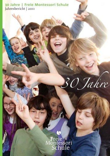 30 Jahre | Freie Montessori Schule