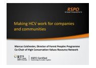 Making HCV work for companies and communities