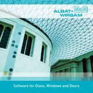 Software for Glass, Windows and Doors - Glaston