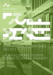 InternatIonal Student GuIde 2012/2013 – for full-deGree StudentS ...