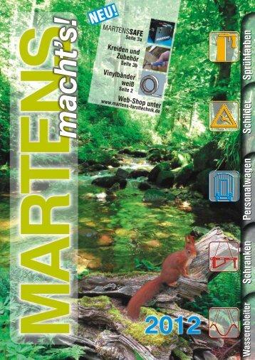 Martens Katalog 2012 - MARTENS Forsttechnik GmbH