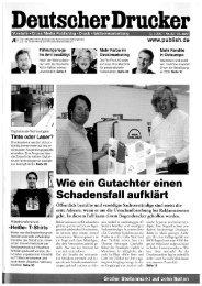 Deutscher Drucker - DST – Digital Screenprinting Technologies