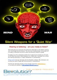Silent Weapons for a 'Quiet War'