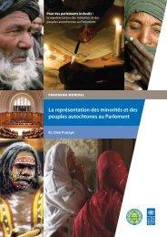 La représentation des minorités et des peuples autochtones au ...