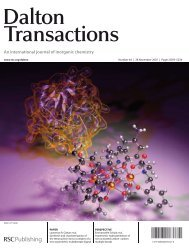 Synthesis and characterization of the tetranuclear - ResearchGate