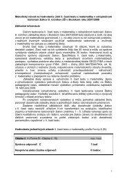 1 Metodický návod na hodnotenie úloh II. časti testu z matematiky v ...
