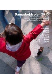 Samarbejdsplan 2013 - Politi