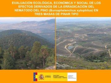 EVALUACIÓN ECOLÓGICA, ECONÓMICA Y SOCIAL DE LOS ...