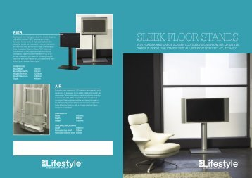 SLEEK FLOOR STANDS - Baumann Meyer