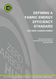 Fabric Energy Efficiency Standard for zero carbon ... - British Precast