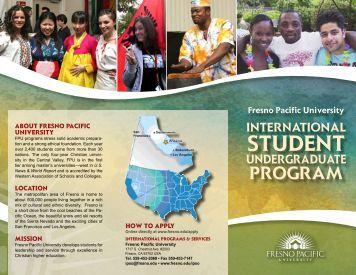 STUDENT - Fresno Pacific University