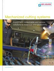 Mechanized cutting systems - BLUESHIELD