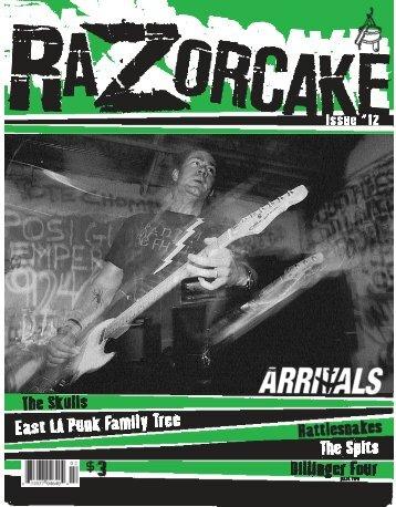 issue #12 pdf - Razorcake