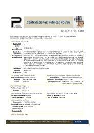 Contrataciones Públicas PDVSA - cpzulia.org