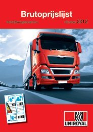 Bruto prijslijst Uniroyal truckbanden 2012 downloaden - Continental