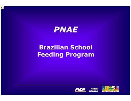 Brazilian School Feeding Program