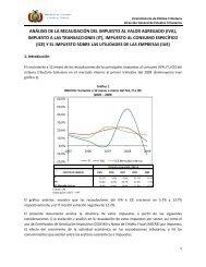 análisis de la recaudación del impuesto al valor agregado (iva)