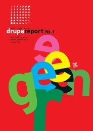 "drupa report Nr. 1 mit Schwerpunkt ""Green Printing"