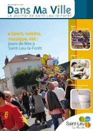 Magazine de mai 2011 - Saint-Leu-La-Forêt
