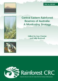 Central Eastern Rainforest Reserves of Australia - Reef and ...