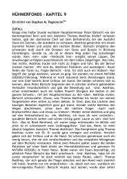 HÜHNERFONDS - ZUFALL - TEIL 9 - D 1 - NATURA GÜGGELI