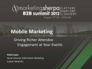 Case Study: Mobile Marketing – Juniper Networks QR ... - meclabs
