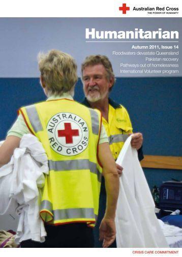 Autumn 2011, Issue 14 - Australian Red Cross